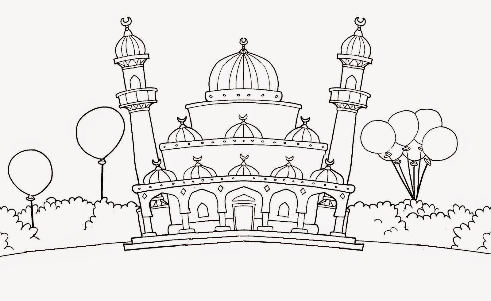 Cami Resimleri Boyama Etkinlikleri Bilgi Cesnisi