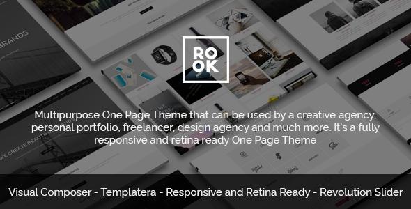 download ROOK - Multipurpose Onepage Retina Theme