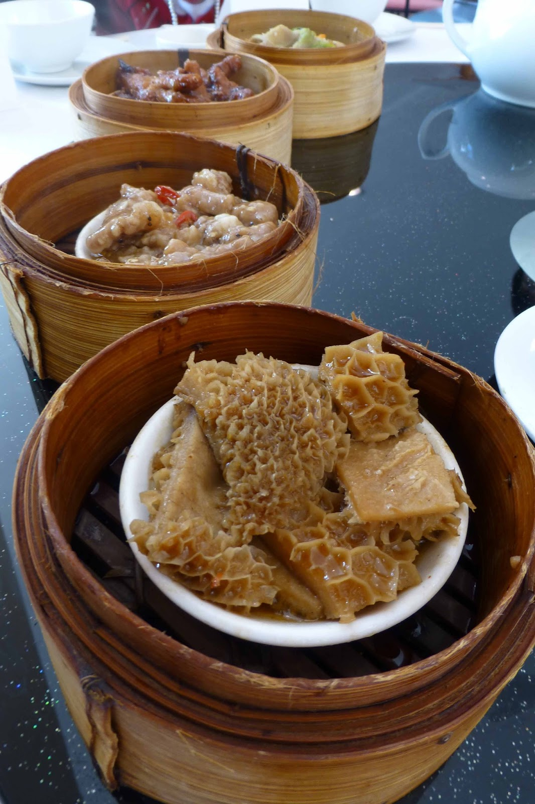 Tripe with red bean curd