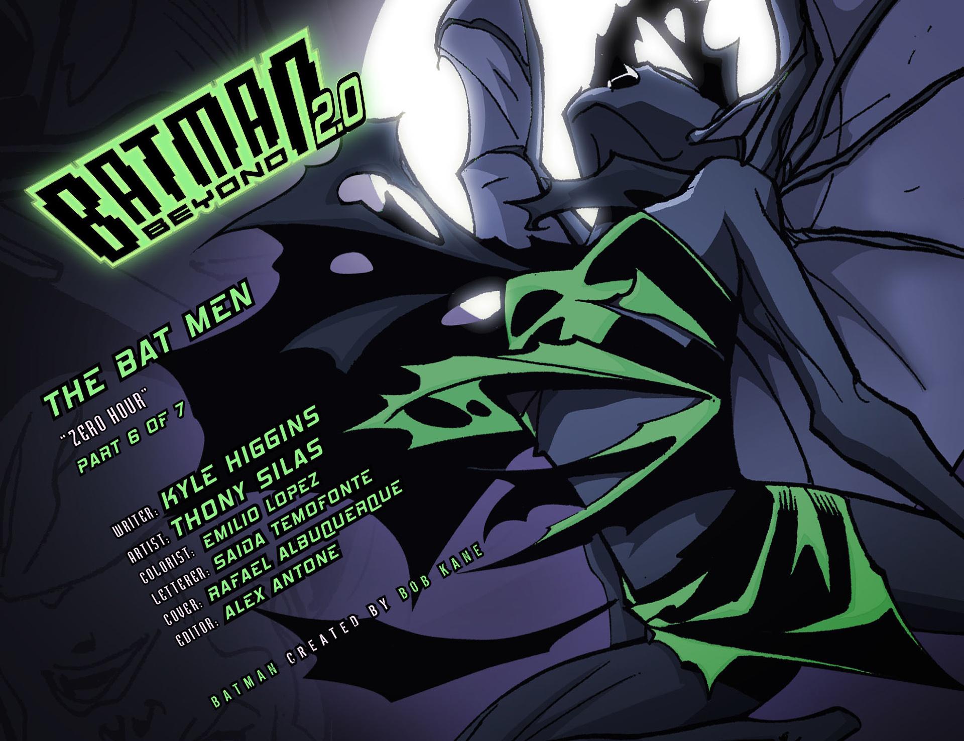Batman Beyond 2.0 #14 #27 - English 2
