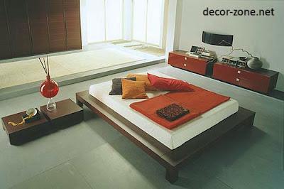 Japanese bedroom designs ideas, Japanese style bedroom furniture