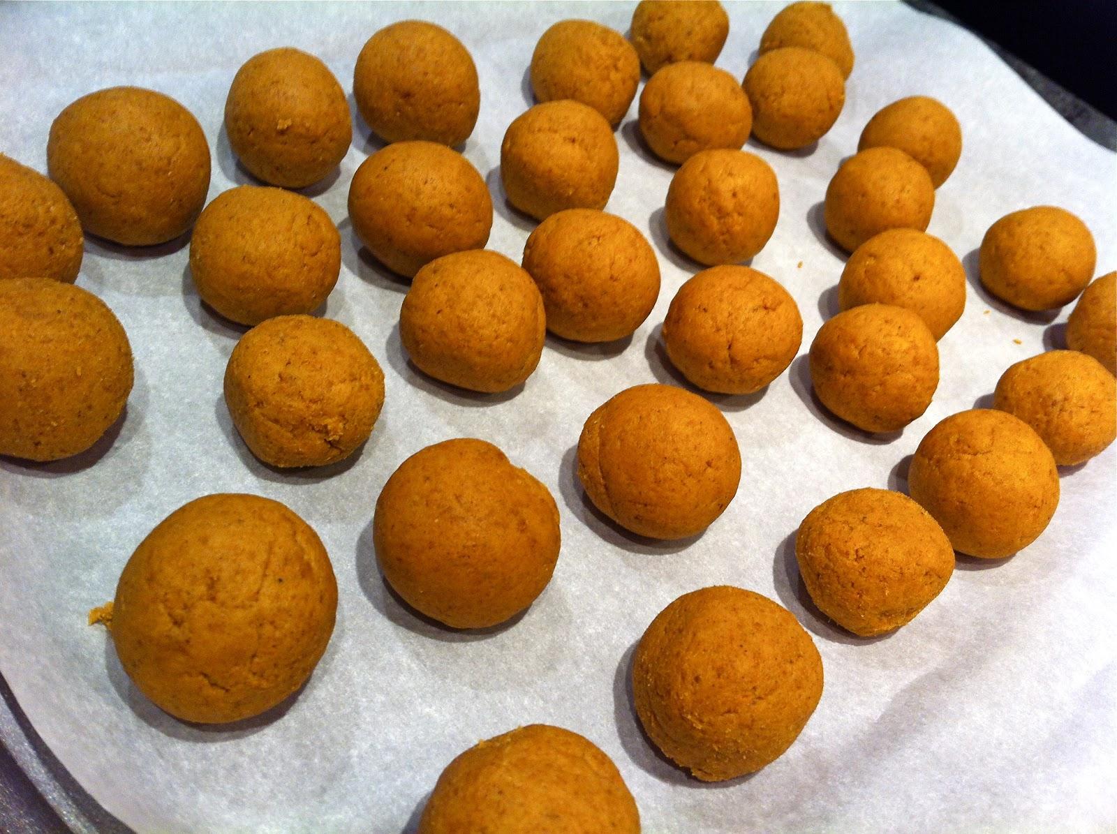 Perfectly Pumpkin Cake Balls