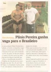 Atleta patrocinado pelas Lojas Fitmuscle Nutrição Esportiva & Fitness