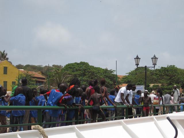 Embarcadero en Gorée (Senegal)
