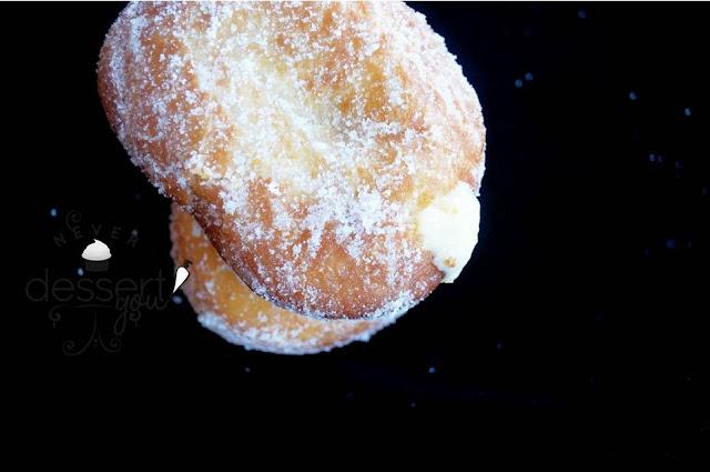 Never Dessert You Cream-Filled Doughnuts