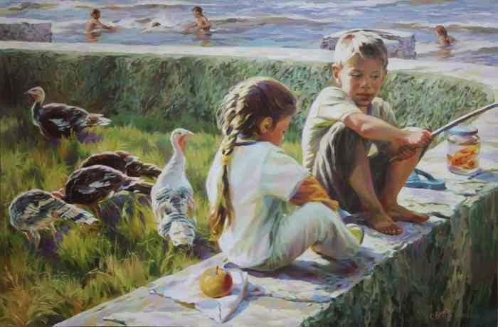 Классическая живопись. Виктория Радионова