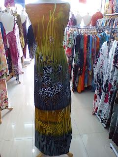 Batik Sutera Crepe Tampal lalang