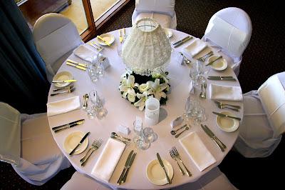 aranjament nunta retro