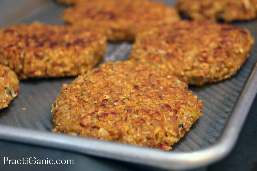 Vegan Sweet Potato & Bean Burger Patties