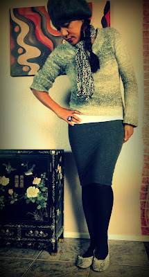 Fall Outfit with Animal Print