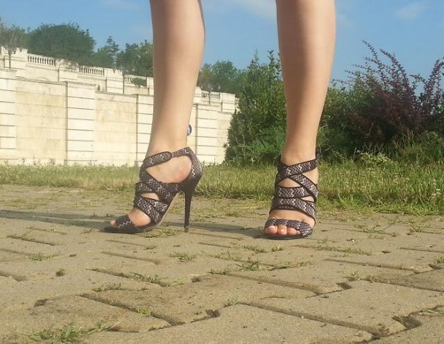 sandale toc