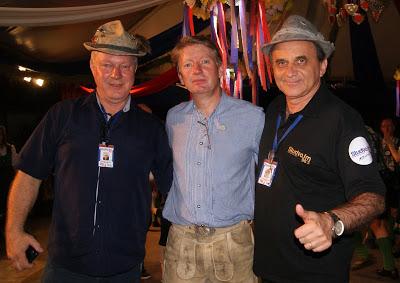 Airton Engster dos Santos, Pierre Lawall e Andreas Hamester