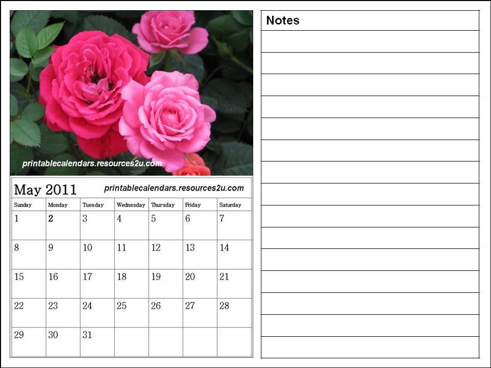 may calendar 2011 blank. Free May 2011 Calendar