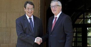 Γιούνκερ: «Πεπεισμένος» για την επανένωση της Κύπρου μέσα στο 2016 - (ΠΑΕΙ ΚΑΙ Η ΚΥΠΡΟΣ)