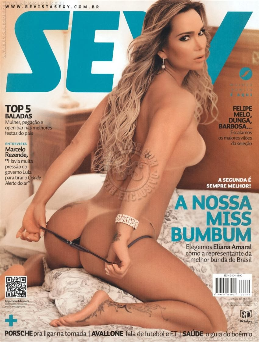 01 Download Revista Sexy Eliana Amaral Janeiro 2014