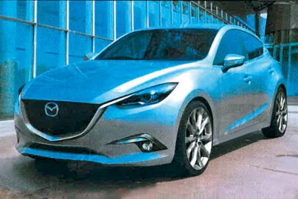 фотографии Mazda 3 2013 года