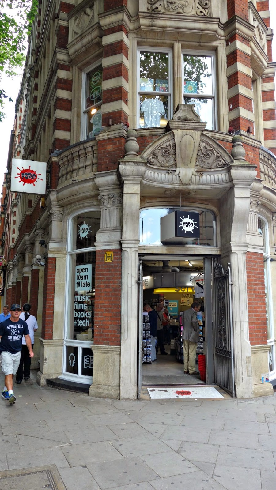 Fopp Covent Garden London