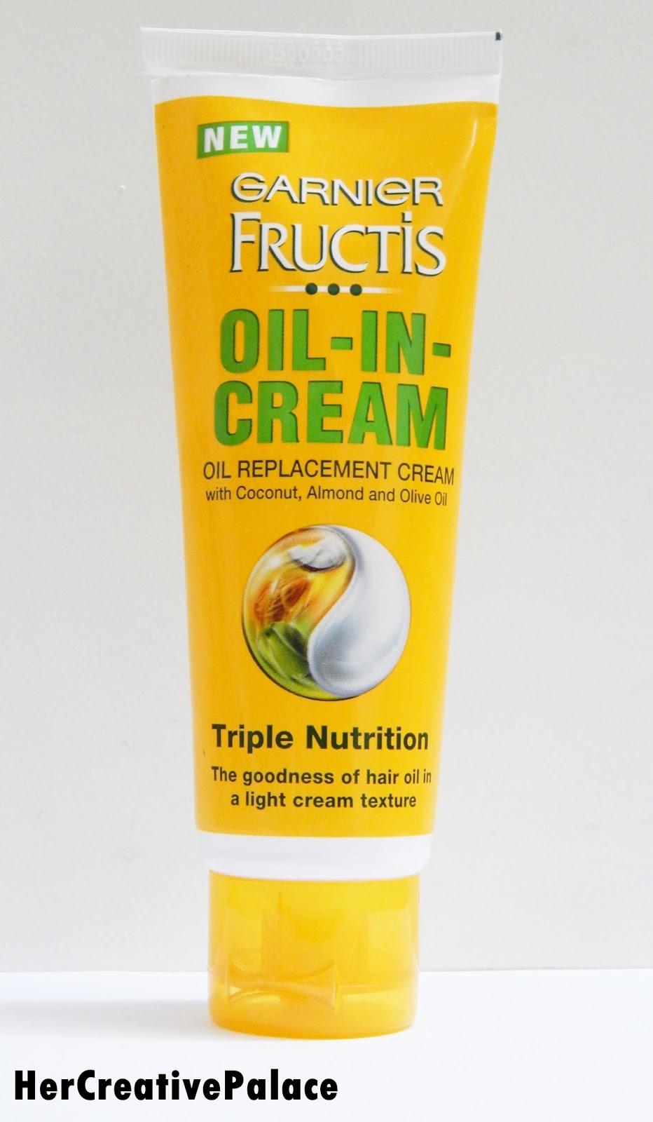 garnier oil in cream