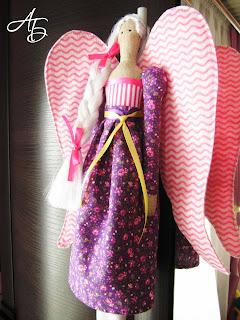 Мои любимые игрушки, текстильная кукла, тильда, ангел