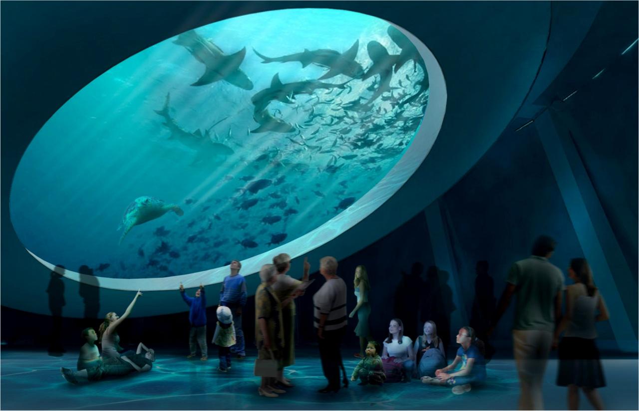 Alex your miami realtor new science museum to break for Site aquarium