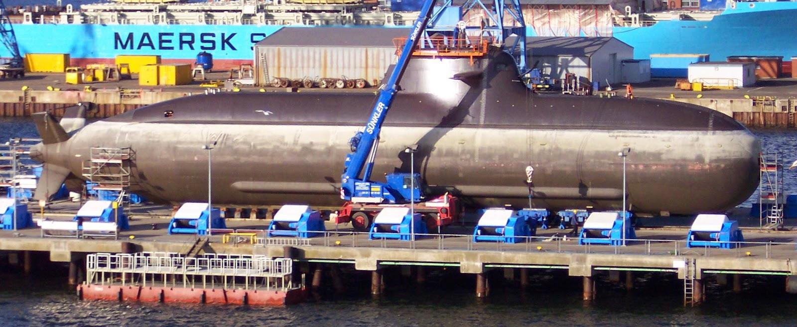 Tipe 212 SSK Submarine
