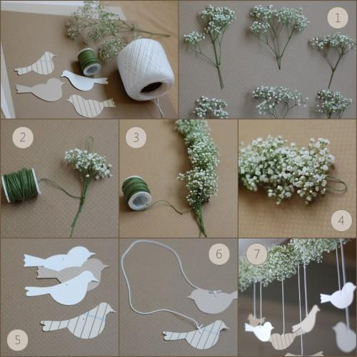 Labels decoration flowers garden party garland project wedding