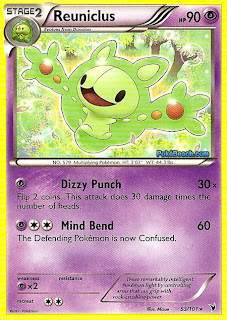 Reuniclus #53/101 Pokemon Card Noble Victories Set