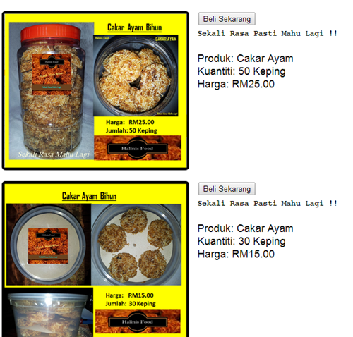 Shop Cart Percuma Dari Mal's E-Commerce Untuk BlogShop