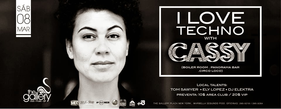 Cassy - I Love Techno.