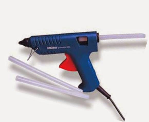 Pistola de calor para barritas de silicona