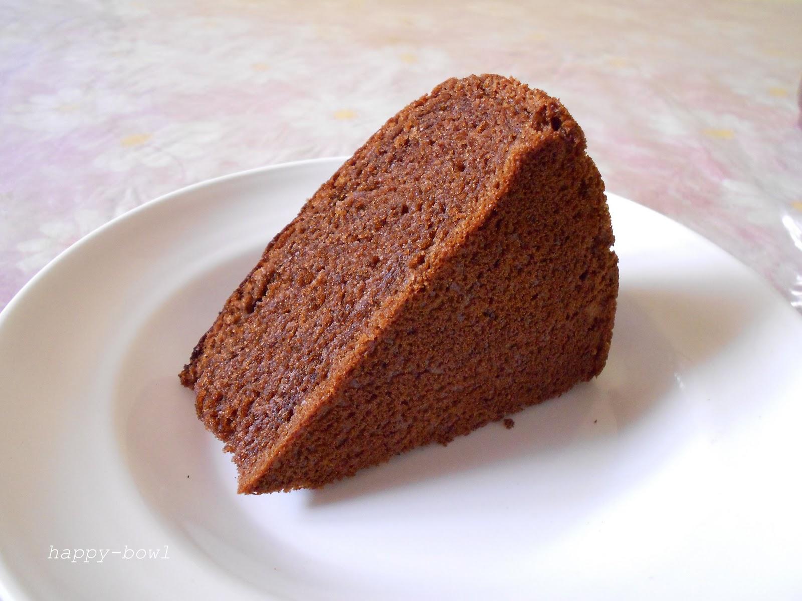 Eggless Chocolate Cake Images : happybowl: EGGLESS CHOCOLATE CAKE
