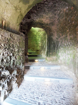 Tunnels leading to the Cathedral