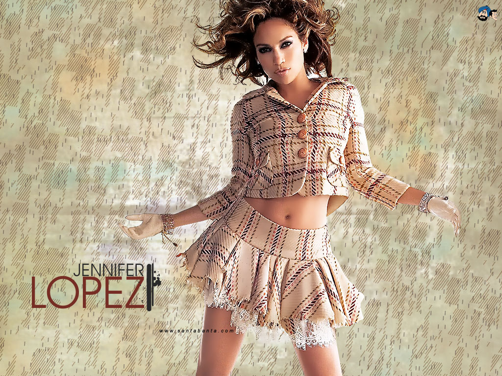 NICE WALLPAPERS: Hollywood Actress Jennifer Lopez nice wallpaper