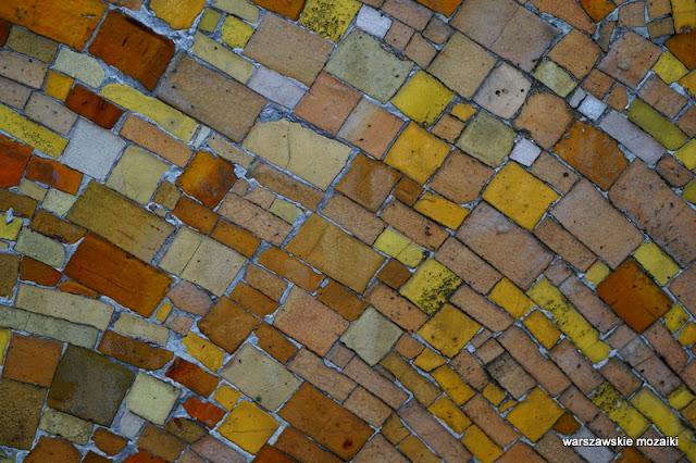 Warszawa Wola dekoracja VIS warszawskie mozaiki