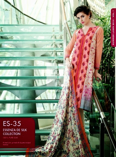Ready to Wear / Stitched Summer Chiffon Lawn Collection-14