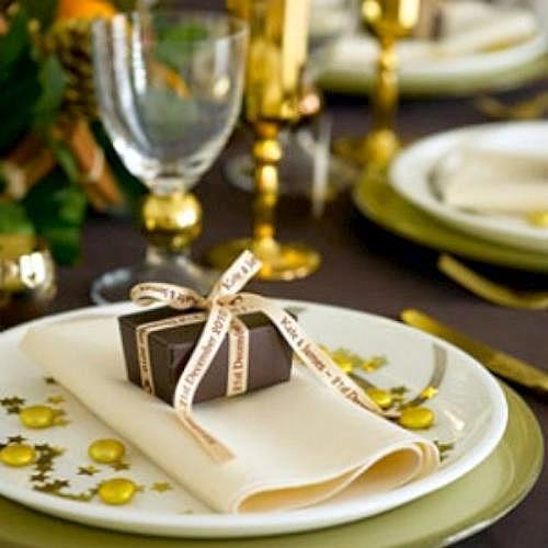 Ideas para noche vieja un vestidor con ideas - Adornar mesa de navidad ...
