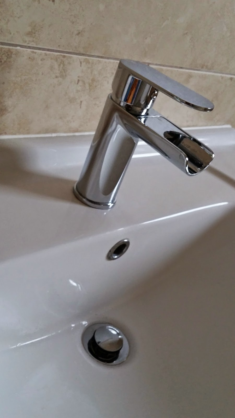 new tap in place