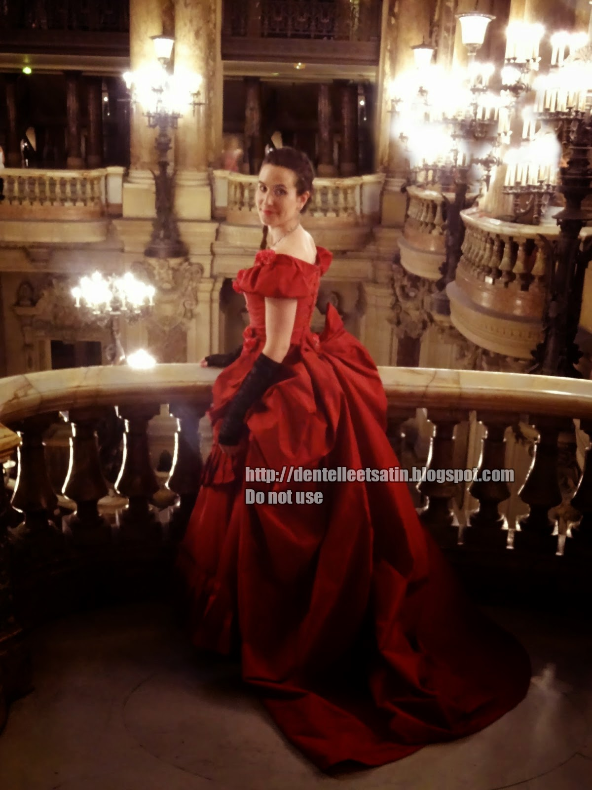 My wishing dress and the Opera Garnier 03