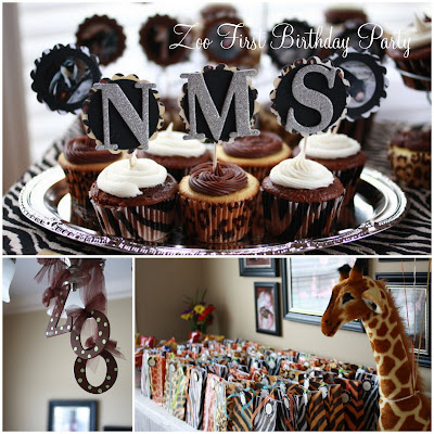 Project Nursery} Adorable ZOO 1st Birthday Party!