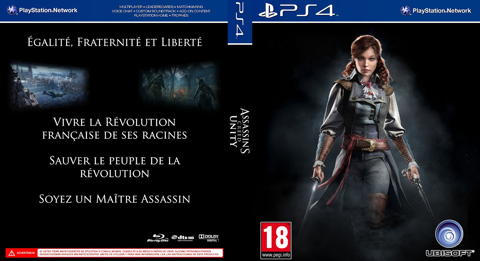 Capa Assassins Creed Unity PS4