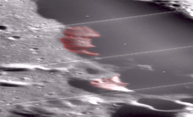 Another Baltic Sea UFO Discovered But On The Moon, Casatus Crater NASA photos, March 2, 2012.