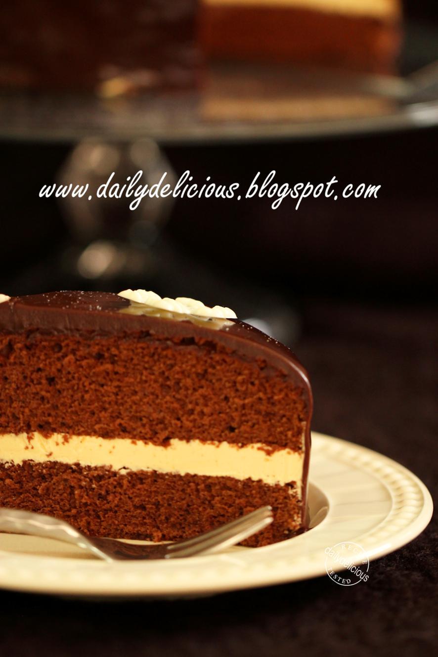Caramel Chiffon Cake Recipe
