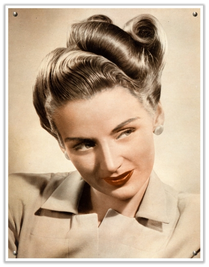 Прически 60-70 годов фото женские на длинные волосы