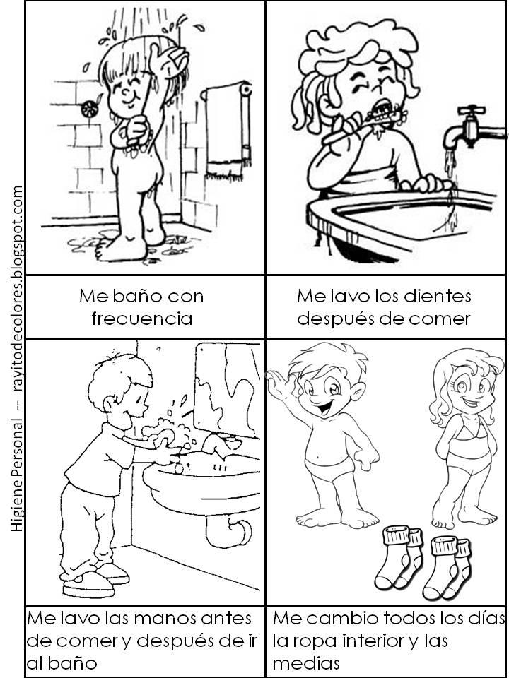 Baño Ninos Frecuencia:Imagenes De Higiene Personal
