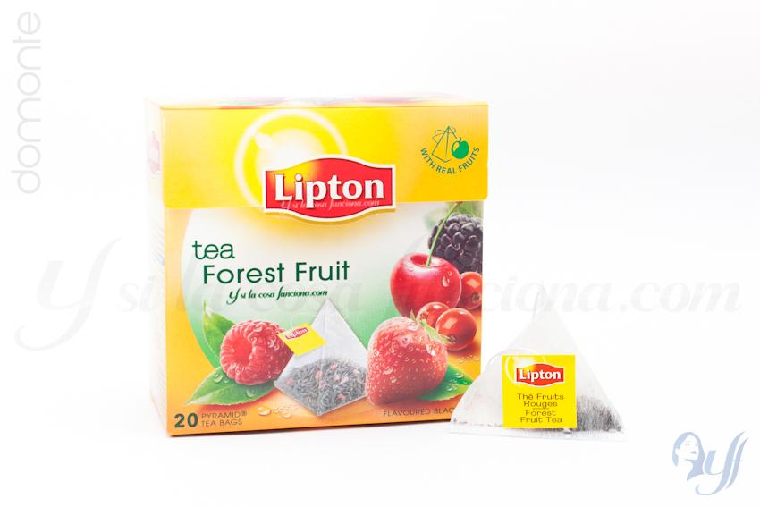 Té Lipton Forest Fruit Caja y Bolsita
