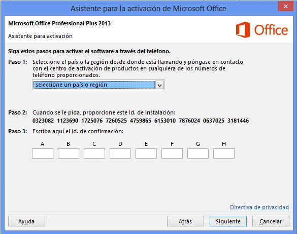 Activa office 2013 pro plus entra ya actualizado for De donde es el telefono