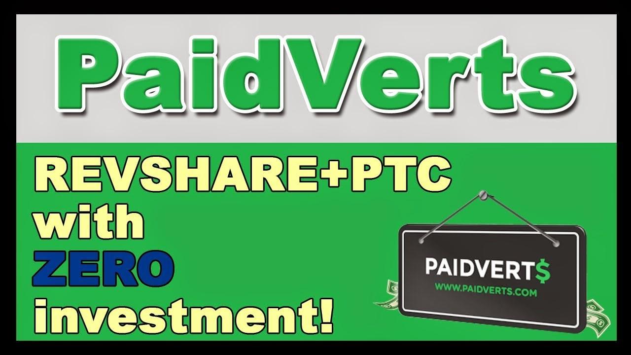 Paidverts.com PTC Terpercaya yang Pasti Membayar