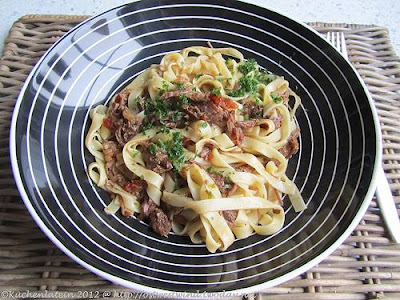 Slow Cooker Beef Cheeks Ragu