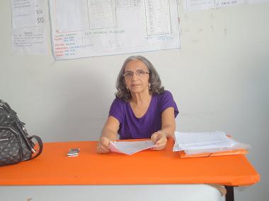 Diretora Socorro Ribeiro