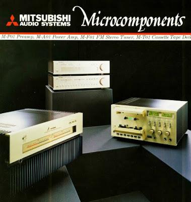 MITSUBISHI  micro HiFi 1980